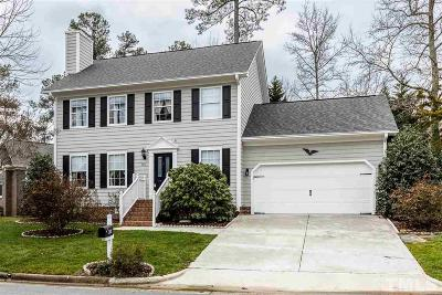Cary Single Family Home Pending: 400 Woodstar Drive