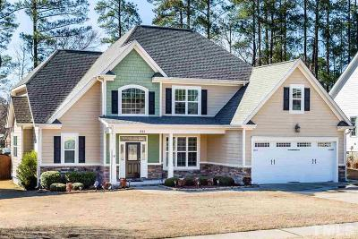 Rolesville Single Family Home Contingent: 211 Terrell Drive