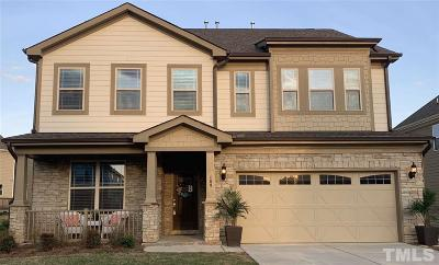 Apex Single Family Home For Sale: 109 Wild Blossom Drive