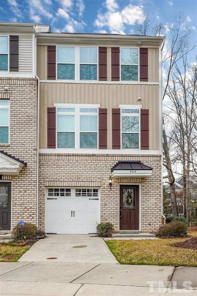 Cary Townhouse For Sale: 404 Berry Chase Way