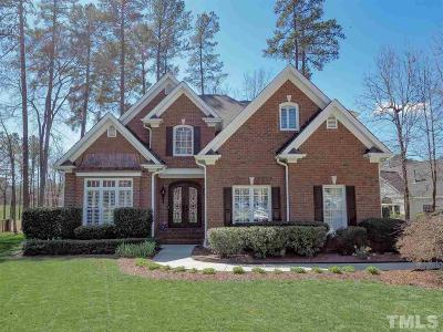 Morrisville Single Family Home Contingent: 132 Crystlewood Court
