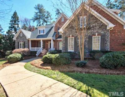 Durham Single Family Home Contingent: 3725 Foxwood Place