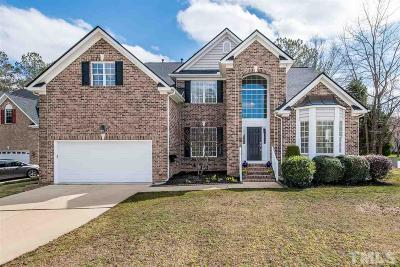 Cary Single Family Home Contingent: 100 Poplar Knoll Court