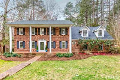 Cary Single Family Home Contingent: 1411 Bloomingdale Drive
