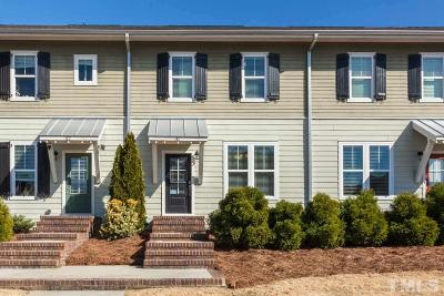 Chatham County Townhouse Contingent: 31 Winkler Way
