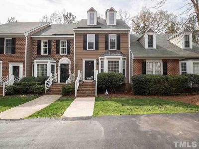 Raleigh Townhouse Contingent: 4531 Hershey Court