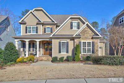 Holly Springs Single Family Home For Sale: 121 Synandra Lane