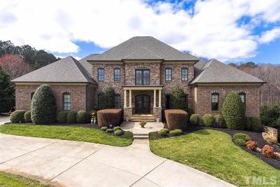 Raleigh Single Family Home For Sale: 4701 Saratoga Falls Drive