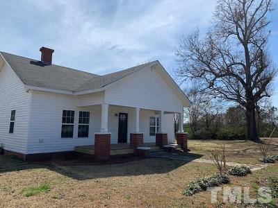 Sampson County Single Family Home For Sale: 509 Whit Road