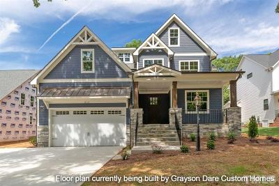 Chapel Hill Single Family Home For Sale: 213 Curlew Drive
