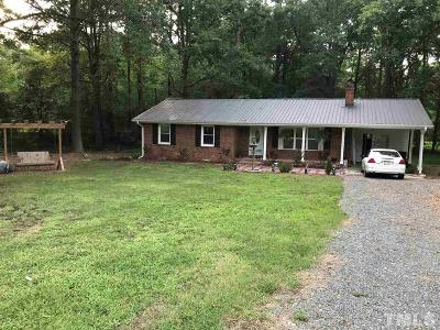 New Hill NC Single Family Home For Sale: $250,000
