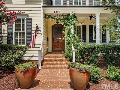 Wake County Single Family Home For Sale: 2811 Anderson Drive