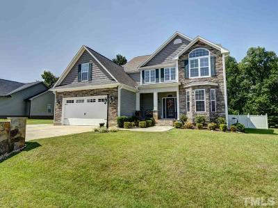 Knolls At The Neuse Single Family Home For Sale: 33 Summerglow Court