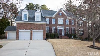 Apex Single Family Home Contingent: 1200 Cairphilly Castle Court