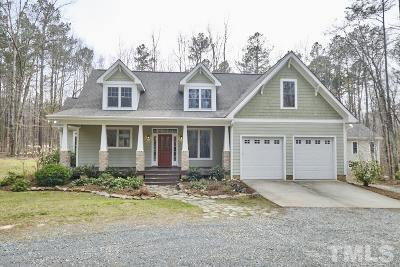 Chapel Hill Single Family Home For Sale: 629 Pepper Place