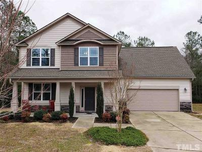 Angier Single Family Home Contingent: 20 Vienna Court