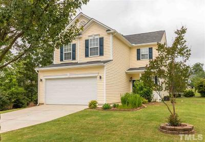 Holly Springs Single Family Home Contingent: 5204 Mabe Drive