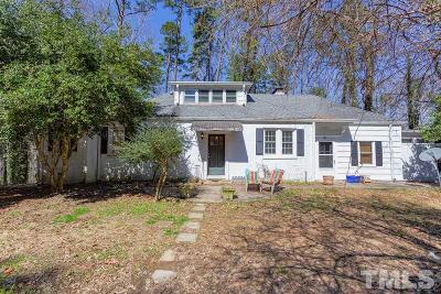 Chapel Hill Single Family Home For Sale: 1210 Roosevelt Drive