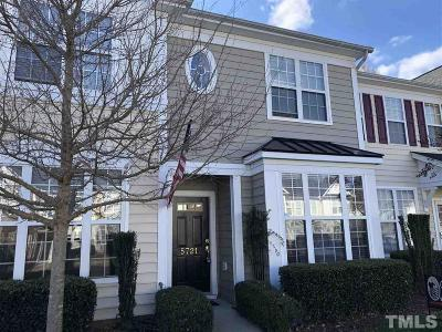 Raleigh Townhouse Contingent: 5721 Clearbay Lane