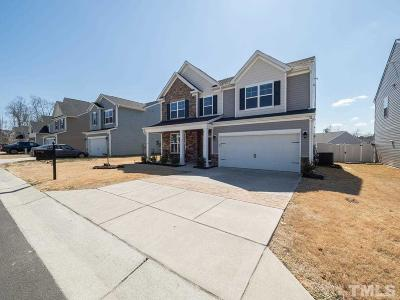 Raleigh Single Family Home Contingent: 3944 White Kestrel Drive