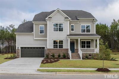 Holly Springs Single Family Home For Sale: 124 Silent Bend Drive #Lot 9