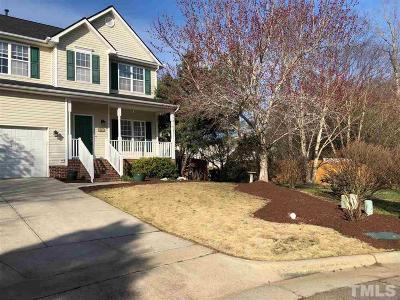Apex Single Family Home Contingent: 1007 Antler Court