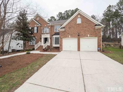 Wake Forest Single Family Home For Sale: 3105 Falconhurst Drive