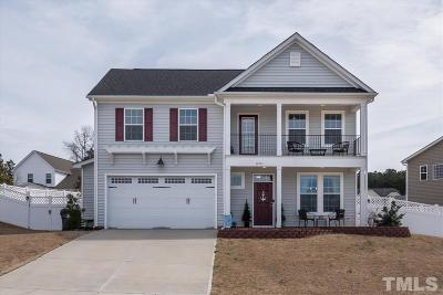 Knightdale Single Family Home Pending: 1203 Redwood Valley Lane
