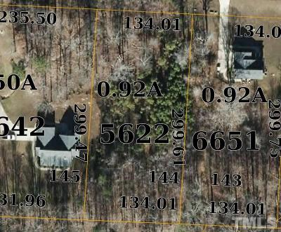 Granville County Residential Lots & Land For Sale: 3688 Summer Springs Drive