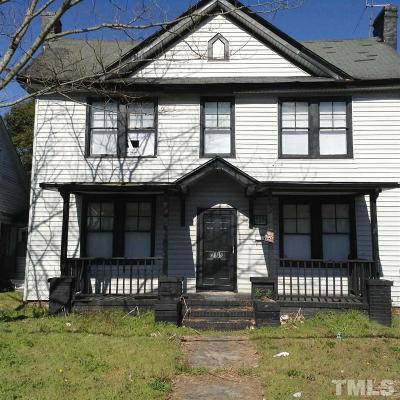 Single Family Home For Sale: 709 N Garnett Street