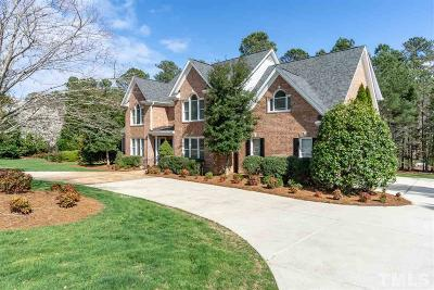 Raleigh Single Family Home Contingent: 4912 Franz Liszt Court