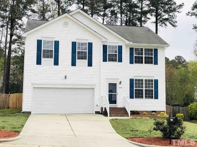 Apex NC Single Family Home For Sale: $339,900