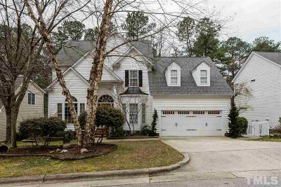 Cary Single Family Home Pending: 120 Hidden Rock Court