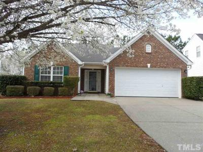 Holly Springs Single Family Home Contingent: 117 Fairford Drive