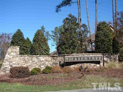 Wake Forest Residential Lots & Land For Sale: 7304 Hasentree Way