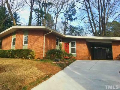 Durham Single Family Home For Sale: 1612 Peace Street