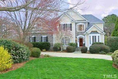 Raleigh Single Family Home For Sale: 9000 Leverton Lane