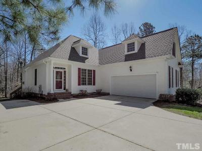 Youngsville Single Family Home Contingent: 170 Williamston Ridge Drive