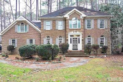 Raleigh Single Family Home For Sale: 2109 Millpine Drive