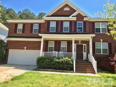 Wake Forest Single Family Home For Sale: 3708 Song Sparrow Drive
