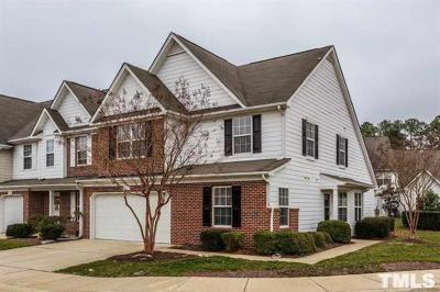 Cary Townhouse For Sale: 3002 Portrait Drive