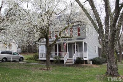 Knightdale Single Family Home Pending: 404 Carrington Drive