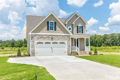 Zebulon Single Family Home For Sale: 51 Reed Drive