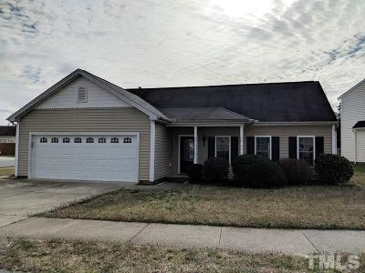 Raleigh Single Family Home Contingent: 8336 Neuse Lawn Road