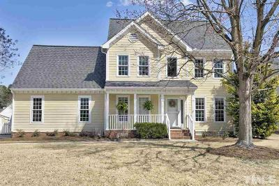 Apex Single Family Home Contingent: 410 Satinwood Drive