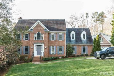 Raleigh Single Family Home Contingent: 709 Tadlock Drive