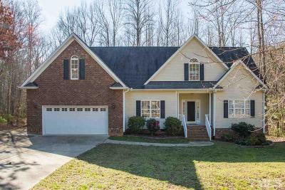Wake Forest Single Family Home For Sale: 3694 Lalla Court