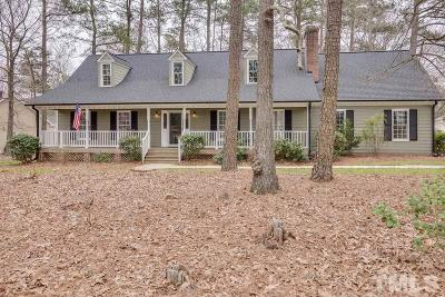 Wake Forest Single Family Home For Sale: 3308 Starboard Court