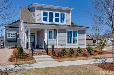 Raleigh Single Family Home Pending: 5408 Advancing Avenue #1119