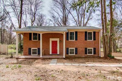 Carrboro Single Family Home For Sale: 1305 W Main Street
